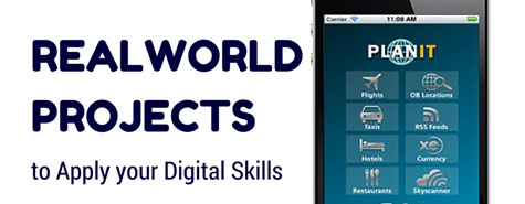 Real World Projects to Apply Your Digital Skills
