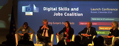 Launch of the Digital Skills and Jobs Coalition 2016, European Commission, Brussels,